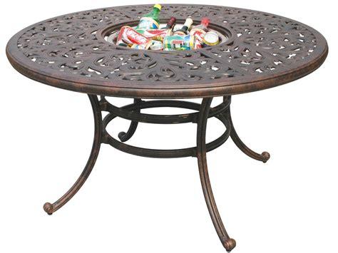 patio dining table darlee outdoor living series 80 cast aluminum antique