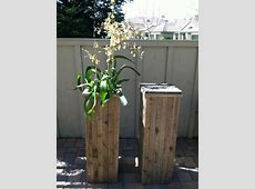 DIY Plant Stand with Pallet Wood Pallets Designs