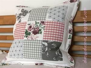 Kissen Selbst Nähen : daisys dasein selbsteinfassende kissenh lle mit stehrand ~ Watch28wear.com Haus und Dekorationen
