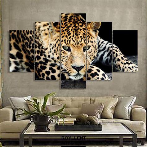 panels wild cheetah group artwork multi canvas art