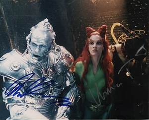 Batman And Robin Movie Cast - Photograph Signed with ...