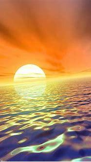 Desktop Wallpapers » 3D Backgrounds » Amazing Sea Sunset ...