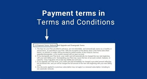Sample Terms And Conditions Template. Summary This