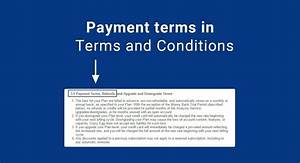 clauses for payment terms termsfeed With mobile app terms and conditions template
