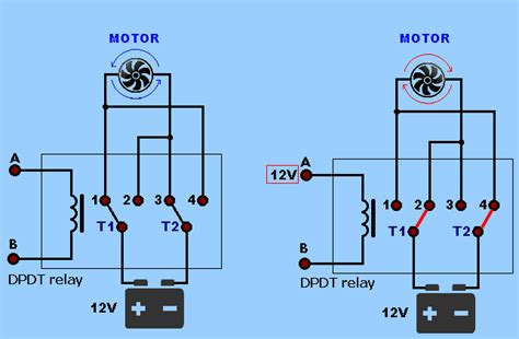 Spdt Relay Dpdt Electronics Projects Circuits