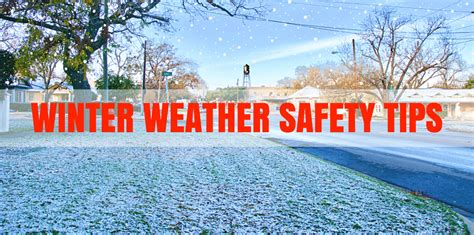 remember   ps  winter weather safety city