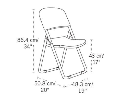 Lifetime Chairs 80072 Almond Loop Leg Folding Chair 38