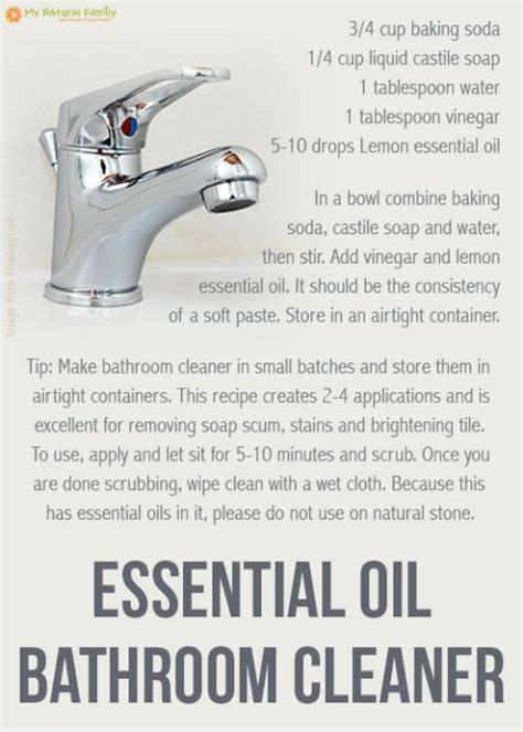 Essential Oils For Cleaning Bathroom by 1250 Best Images About Household Tips And Tricks On
