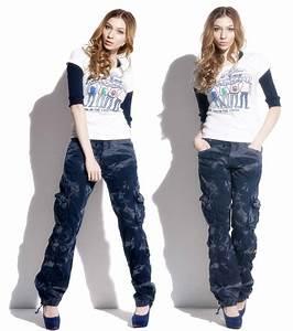 Womenu0026#39;s pants Fashion Women Army Camo Cargo Pants Girls Harem Hip Hop Dance Jogger Pants Casual ...