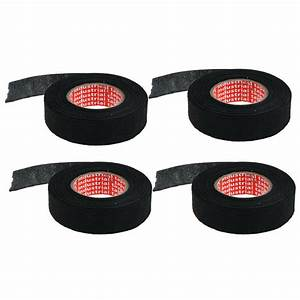 4pcs Wire Loom Harness Adhesive Polyester Tape For