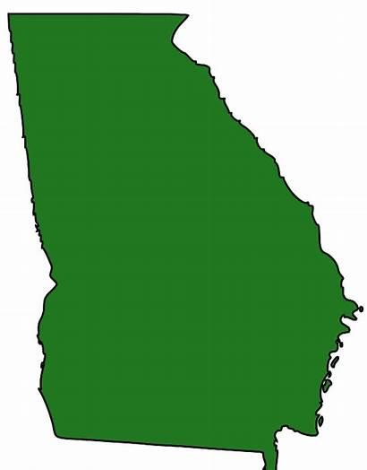Georgia State Svg Cliparts Clip Clipart Vector