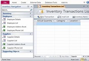 Free Inventory Management Template for Access