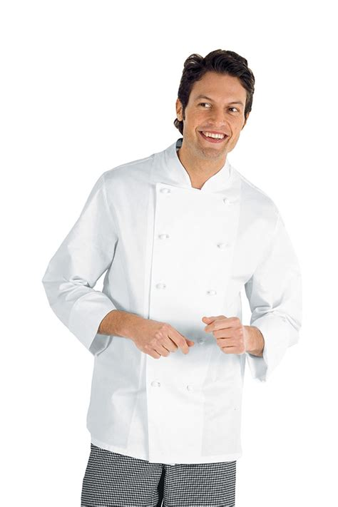 vetement de cuisine pas cher veste chef cuisinier enrica blanc 100 coton