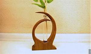 another small wood vase - YouTube