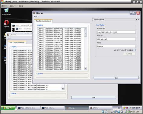 Ros For Windows Via Mingw