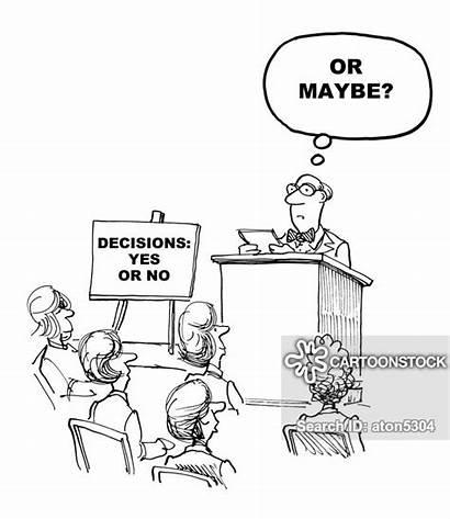 Decision Maker Cartoon Funny Cartoons Making Cartoonstock