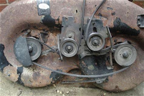 craftsman lt1000 deck belt adjustment craftsman lt1000 deck belt adjustment 28 images