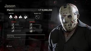 """Check Out Stat Screens for Every Playable Jason in """"Friday ..."""