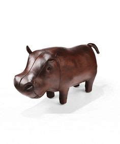 Leather Hippo Ottoman by 1000 Images About Additions On