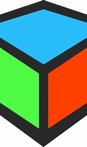 16 3D Square Icon.png Images - 3D Cube Vector, Data Cube ...