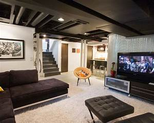 Beautiful, Basement, Remodeling, Ideas, And, Designs