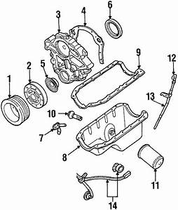 Ford Aerostar Engine Crankshaft Position Sensor  Liter