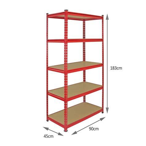 metal shelving units for garage 4 heavy duty shelving racking garage 5 tier storage units metal shelves bays ebay