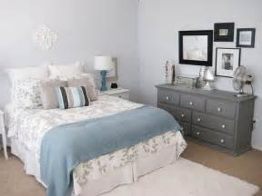 Light Blue and Gray Bedroom