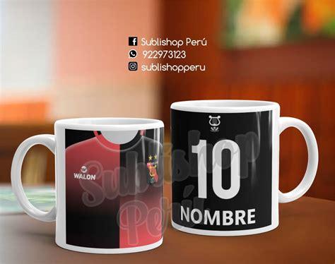 tazas personalizadas equipos de futbol peruano