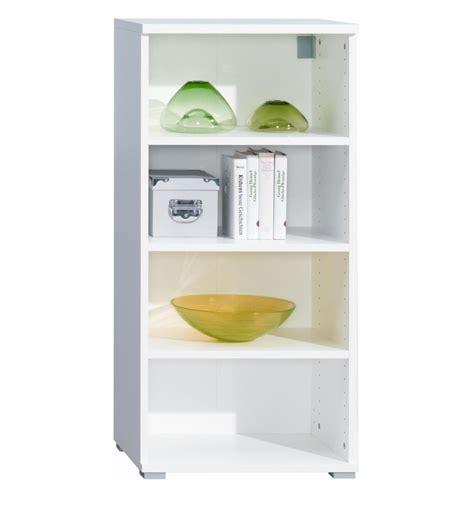 White Wall Shelf Unit by Four Shelf Bookcase Wall Mountable Unit White