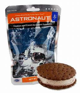 Gift Shop | Astronaut Cookies and Cream Ice Cream Sandwich ...