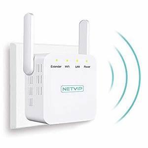 Wlan Verstärker Reichweite : netvip wlan verstaerker n300 wireless signalverst rker ~ Watch28wear.com Haus und Dekorationen