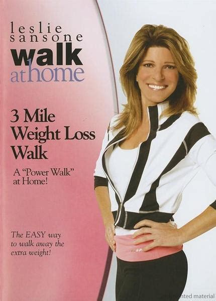 walk leslie sansone mile weight loss dvd amazon miles workout movies tv fast exercise fitness firm