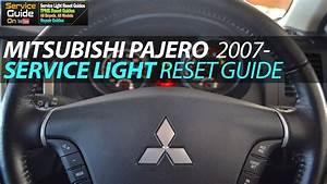 Mitsubishi Pajero Service Light Reset 2007-