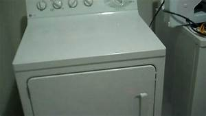 GE Profile dryer - squeaking noise - YouTube