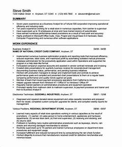 business analyst resume template 15 free samples With business analyst resume sample