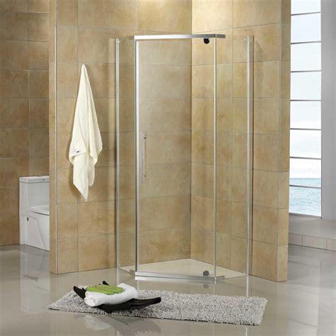"36"" x 36"" Lexi Neo Angle Corner Shower Enclosure   Bathroom"