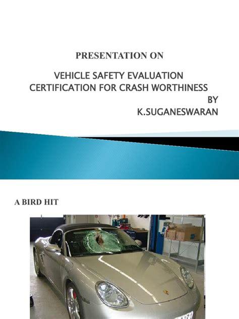 safety standards seat belt airbag