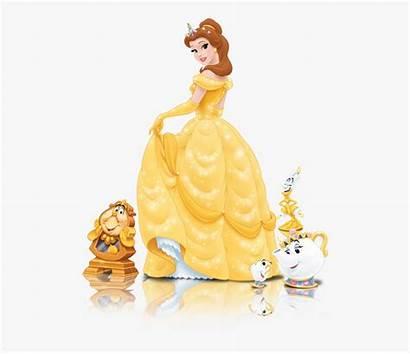 Belle Princess Disney Servants Clipart Clipartkey