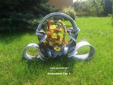 Garten Deko Autoreifen by Reifen Blumenbeet