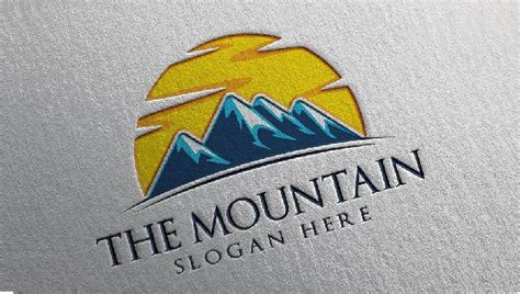 mountain logos  sample  format