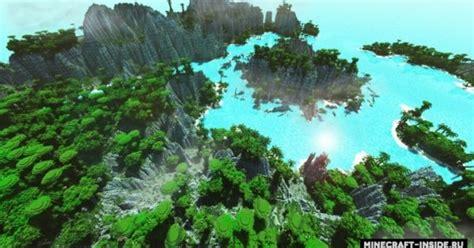 tropical island map  minecraft   pc java mods