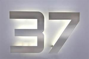 Hausnummer Led Hinterleuchtet : 20 cm hohe hausnummer aus edelstahl wahlweise auch mit led ~ Sanjose-hotels-ca.com Haus und Dekorationen