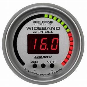Auto Meter 4378 Ultra Fuel Ratio  Afr  Gauge