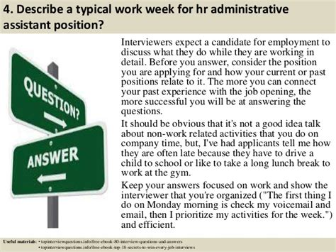 Questions And Answers For Hr Assistant Position by Top 10 Hr Administrative Assistant Questions And
