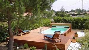 petite piscine rectangulaire gonflable 14 infos sur With charming photo amenagement terrasse exterieur 14 deco salon et cuisine ouverte