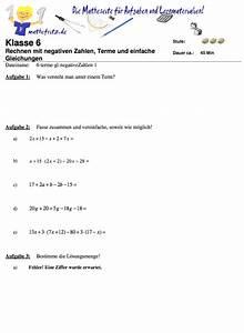 Terme Berechnen übungen : terme negative zahlen bungen matheaufgaben zu negativen zahlen ~ Themetempest.com Abrechnung