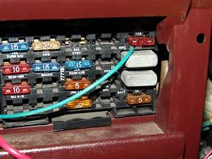 94 Chevy Silverado Fuse Box