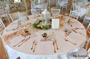 decoration table mariage chetre la décoration quot nature chic quot de notre mariage mlle escarpins