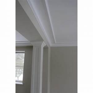 Corniche Plafond Platre : corniche d 39 angle classique plafond hauteur moyenne ~ Voncanada.com Idées de Décoration
